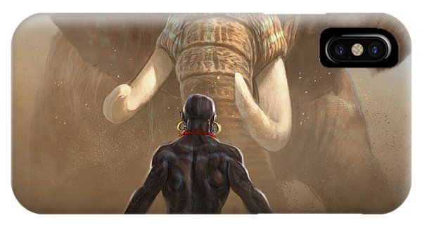 Native iPhone Case - Nubian Warriors by Aaron Blaise
