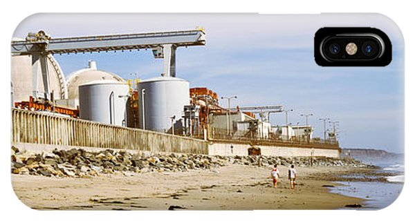 Controversial iPhone Case - Nuclear Power Plant On The Beach, San by Panoramic Images