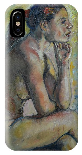 Nude Eva 2 IPhone Case