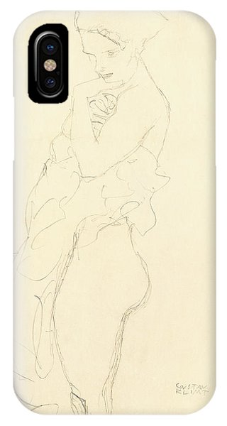 20th iPhone Case - Nude by Gustav Klimt