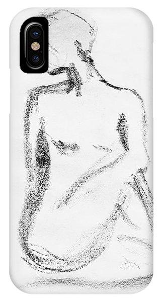 Nude Model Gesture Vi IPhone Case