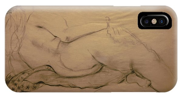 Nude On Blanket IPhone Case
