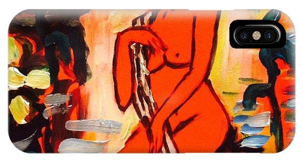 Nude Study 18 IPhone Case