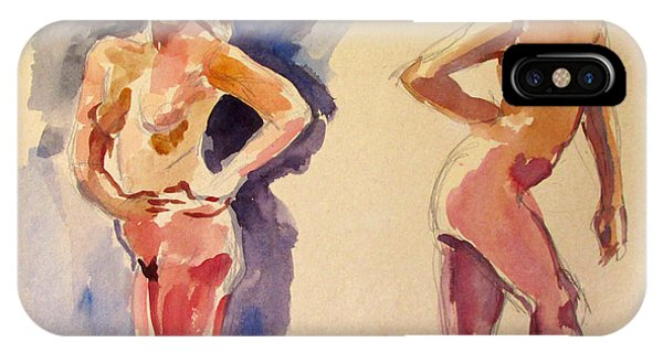 Nude Study IPhone Case