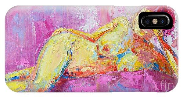 Nude Woman Figure No. 6 IPhone Case