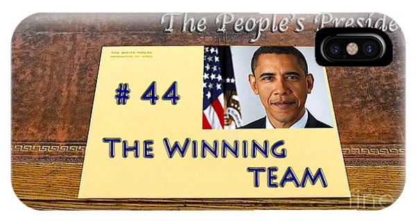 Number 44 - The Winning Team IPhone Case