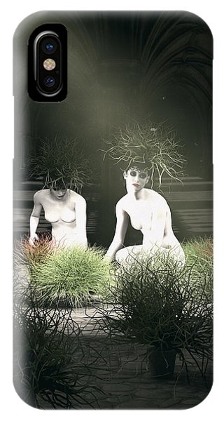 Arte iPhone Case - Nuns Of The Future Forest by Quim Abella