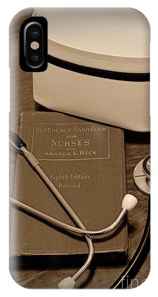 Nurse - The Care Giver IPhone Case