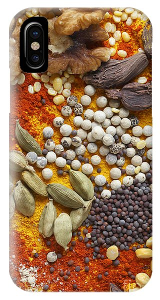 Nuts Pulses And Spices IPhone Case