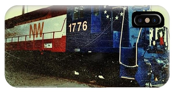 Transportation iPhone Case - Nw Locomotive #1776 #phonto #altphoto by Teresa Mucha