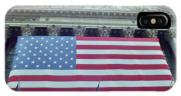 Ny Stock Exchange IPhone Case