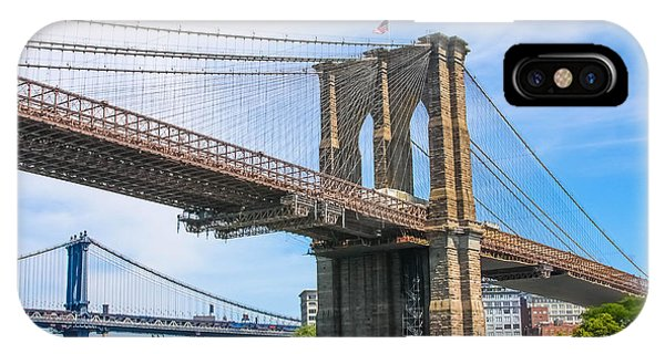 Nyc Bridges To Brooklyn IPhone Case