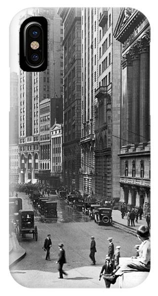Nyc Financial District IPhone Case