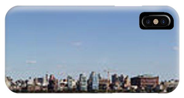 iPhone Case - Nyc Panoramic by Tony Cordoza