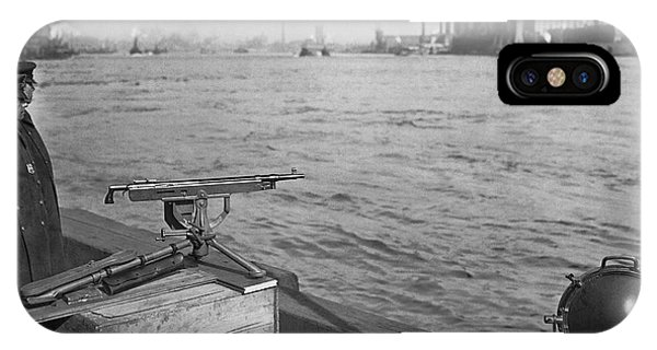 Nyc Prohibition Police Boat IPhone Case