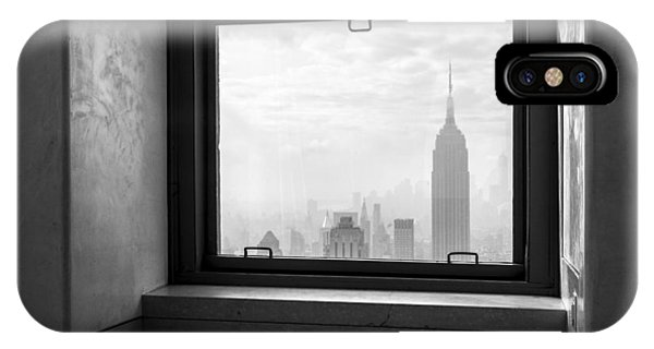 Skyline iPhone Case - Nyc Room With A View by Nina Papiorek