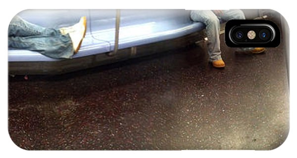 Nyc Subway At Night IPhone Case