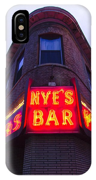 Nye's Bar By Day IPhone Case