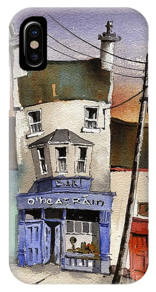Ireland iPhone Case - O Heagrain Pub Viewed 115737 Times by Val Byrne