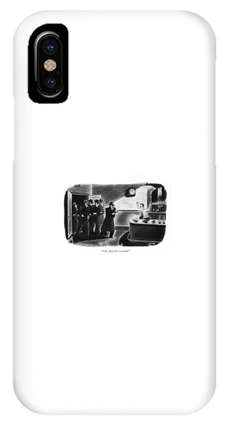 Pub iPhone Case - O. K., Bud, This Is A Stickup by Richard Taylor