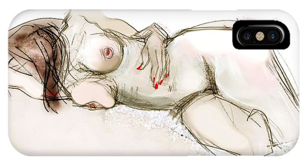 O Sleeping - Female Nude IPhone Case