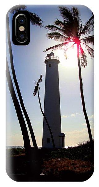 Oahu Lighthouse IPhone Case