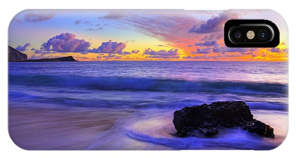 Oahu iPhone Case - Oahu Sunrise by Dustin  LeFevre