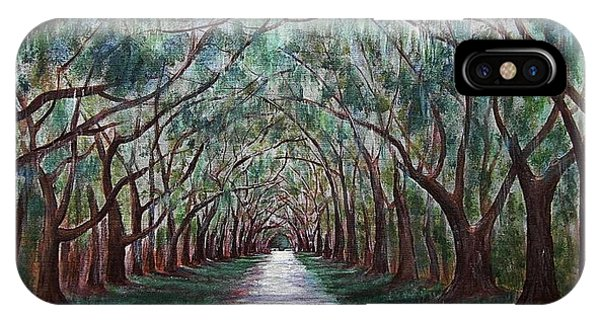 Oak Avenue IPhone Case