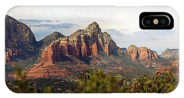 Oak Creek Canyon Sedona Pan IPhone Case