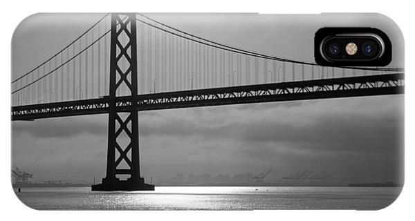 Oakland Bay Bridge IPhone Case