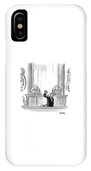 Obama Dropping A Mic IPhone Case