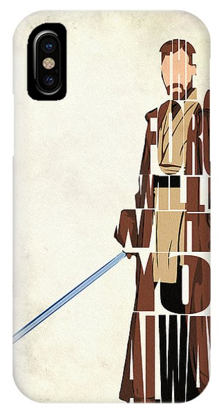 Obi-wan Kenobi - Ewan Mcgregor IPhone Case