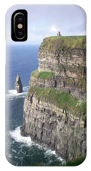 Cliffs Of Moher - O'brien's Tower IPhone Case