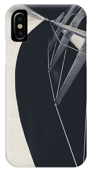 Obsession Sails 9 Black And White IPhone Case