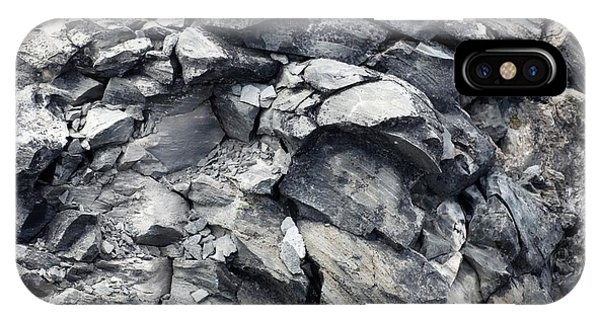 Pyroclastic Flow iPhone Case - Obsidian Flow by Michael Szoenyi/science Photo Library