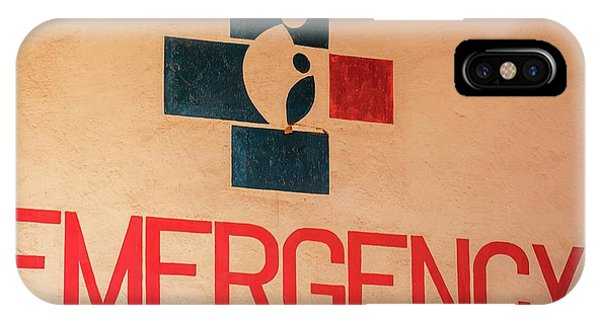 Obstetrics Emergency Sign Phone Case by Mauro Fermariello/science Photo Library