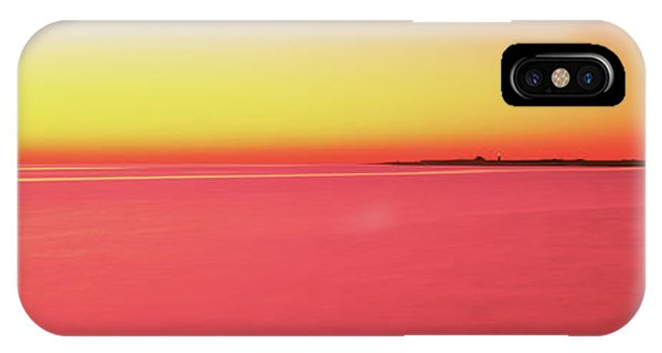 Cape Cod iPhone Case - Ocean At Sunset, Provincetown, Cape by Panoramic Images