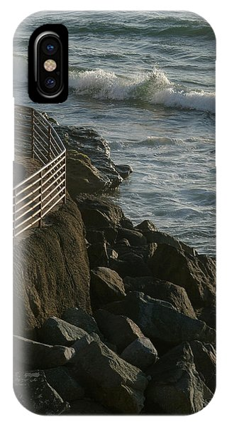 Ocean Beach Boat Ramp IPhone Case
