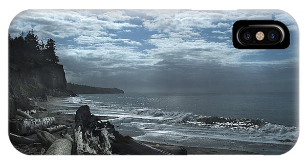 Ocean Beach Pacific Northwest IPhone Case