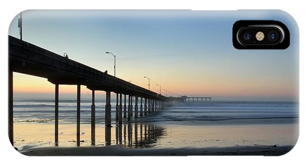 Ocean Beach Pier IPhone Case