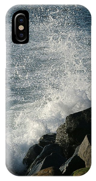 Ocean Beach Splash 1 IPhone Case