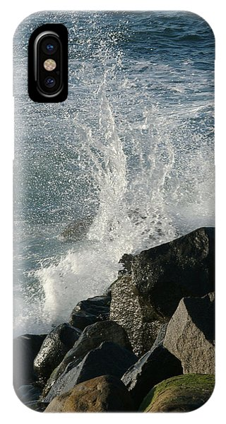 Ocean Beach Splash 2 IPhone Case