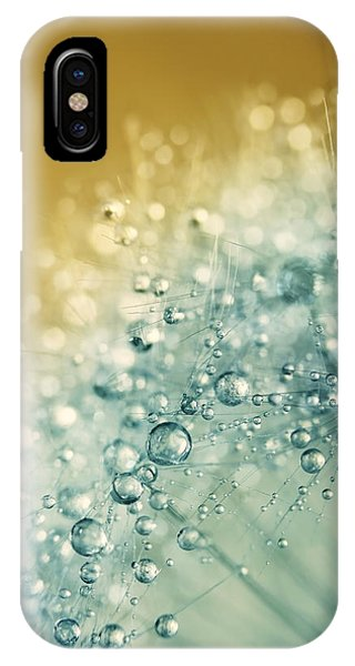 Ocean Blue Dandy Sparkles IPhone Case