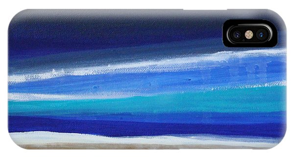 Aqua iPhone Case - Ocean Blue by Linda Woods