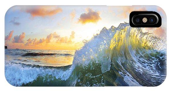 Waves iPhone Case - Ocean Bouquet by Sean Davey