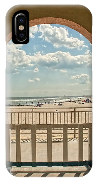 Ocean City Beach View IPhone Case