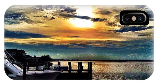 Ocean City Sunset IPhone Case