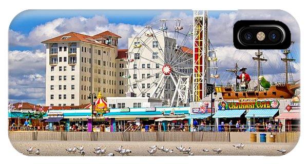 Ocean City View IPhone Case