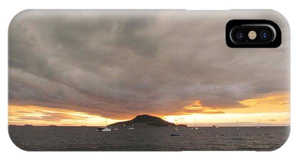 Ocean Cloud Sunrise IPhone Case