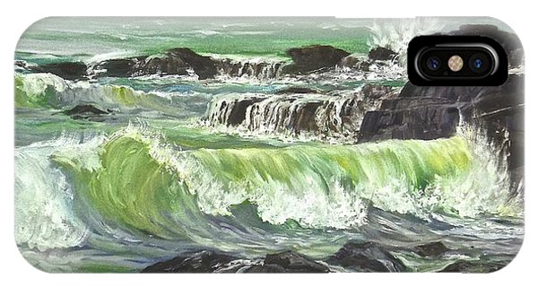 Ocean Emotion Lajolla Cove IPhone Case